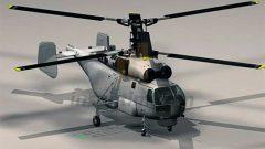 3 Boyutlu KA27 Model Helikopter Çizimi