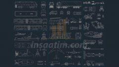 Autocad Karışık Araç Çizimleri – dwg