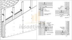 Dış Duvar Giydirme Detay Çizimleri