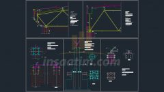 Uzay Kafes Sistem Detay Çizimleri – dwg