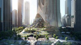 Zaha Hadid Architects tarafından tasarlanan Tower C